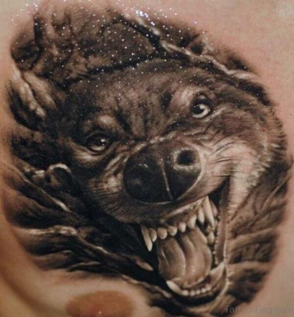 Что означает оскал волка на тату