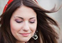 Пирсинг брови: как делается и как ухаживать